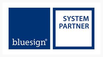 Blue Sign System Partner