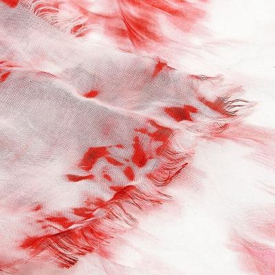 Printed silk scarf UK