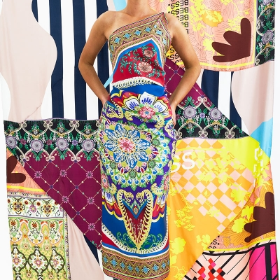Digital textile garment printing